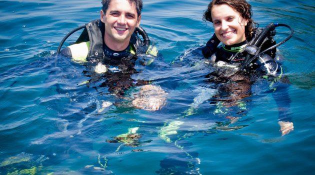 Scuba diving in Costa Rica is world class fun
