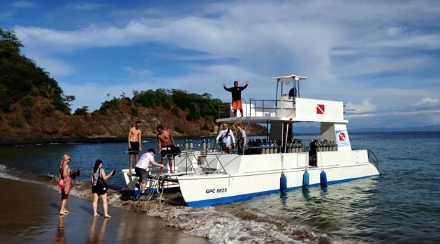 Costa Rica scuba diving in the Northwest Pacific area