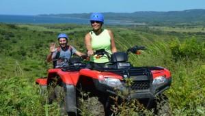 ATV riding at Arenal Volcano Costa Rica