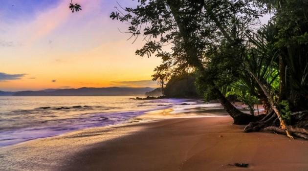 Bosta Rica Beach in Osa Peninsula