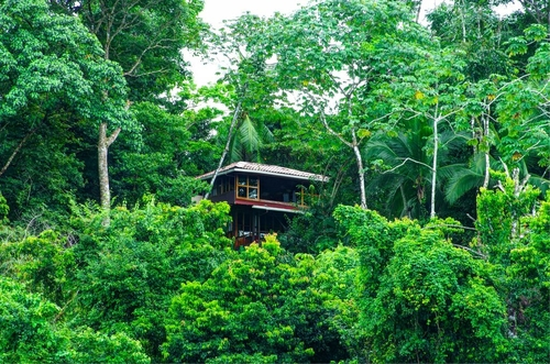 La Paloma Lodgein Osa, Costa Ricas