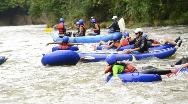 White water river rafting & tubing in Costa Rica