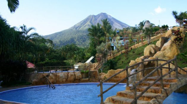 Los Lagos hotel, hot springs and spat at Arenal Volcano Costa Rica with Bill Beard's scuba diving,vacation planners & adventure travel company since 1970