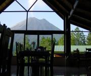 restaurant con volcan