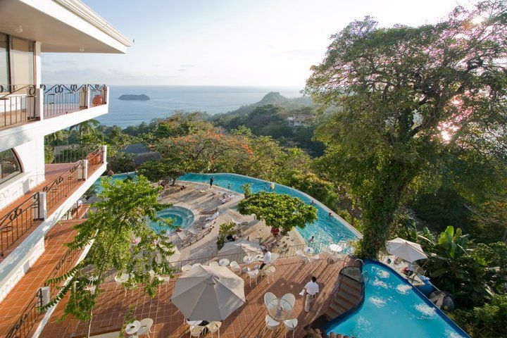 Sunset At La Mariposa Hotel Manuel Antonio Costa Rica 21