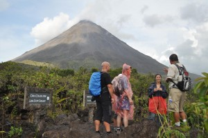 Hiking Arenal Volcano