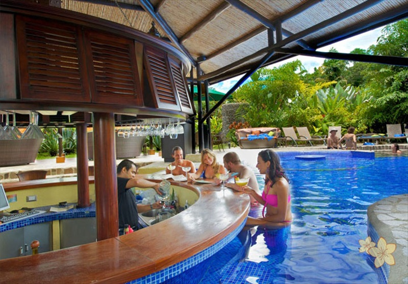 Nayara springs hotel in arenal costa rica costa rica for Pool design costa rica