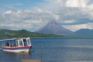 Lake Arenal Boat Crossing