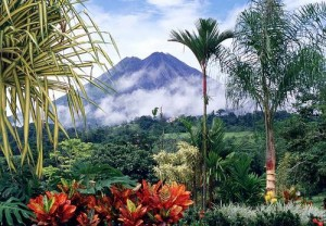 hot springs and volcano costa rica