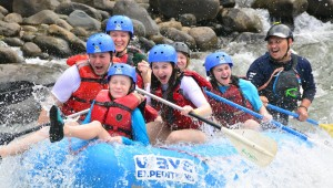 Family Vacation In Costa Rica Whitewater River Rafting