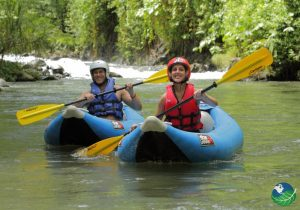 Kayaking at Club Rio at The Springs Resort in Costa Rica