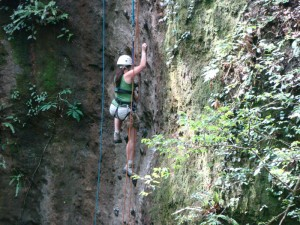 rappelling adventure costa rica