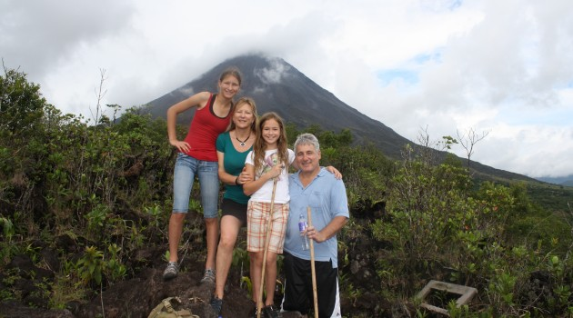 Arenal Volcano Hiking Costa Rica