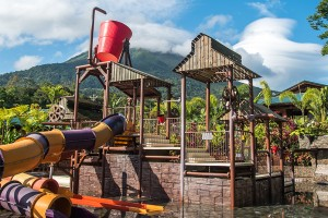 Kalambu hot springs and water park Costa Rica