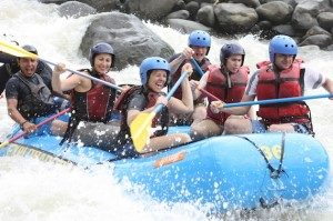 White water river rafting in Costa Rica With Bill Beard's